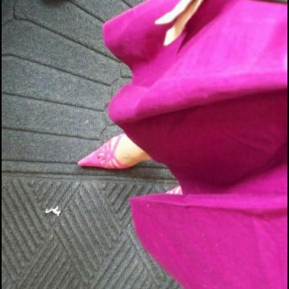Aldo Shoes - ALDO VINTAGE Fuschia GENIUNE Suede Heels